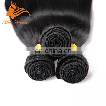 Wholesale Brazilian Hair Weave Bundles Yaki Straight Virgin Human Hair Wet And Wavy Weft