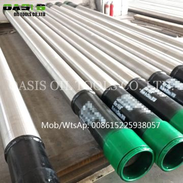 6 5/8'' 168mm double layer wrapped well screens all-welded square slot cylinder screen