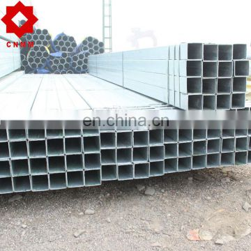 galvanized square and rectangle tube/pipe pipe/tube gi pipe astm a53