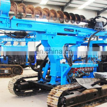 Factory direct sales crawler pile drilling rig 30m