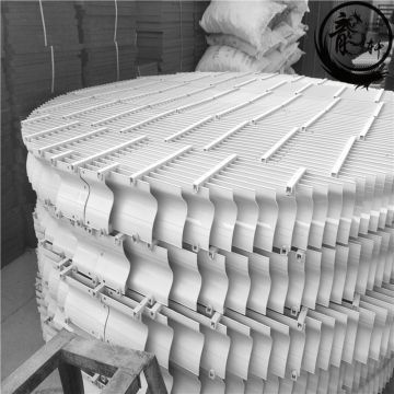 Used For Gas Entrained Water Drift Eliminator Pp Pvc Cooling Tower Mist Eliminator