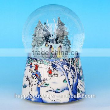 Ceramic Christmas Snow Globe for wholesale