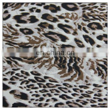 40/60 tencel cotton fabric leopard pattern design cotton tencel fabric for high quality garment material