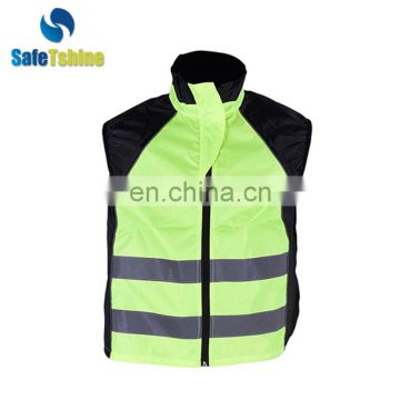 High vis reflective exercise cheap security safety vest
