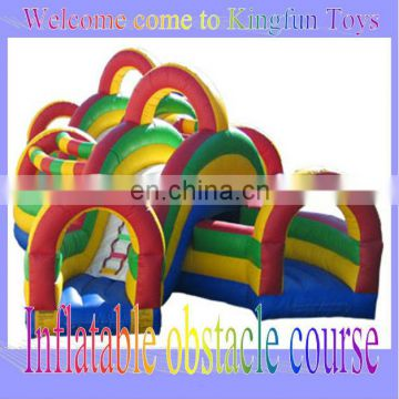 Customized inflatable interactive obstacle playground
