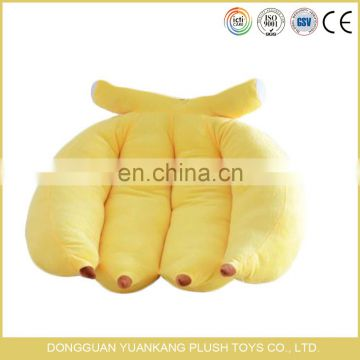 Wholesale stuffed toy cushion soft plush bananas