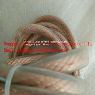 Copper stranded wire slicone tube hot sale electrical