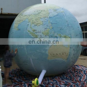 inflatable earth balloon world map infaltable ball for display