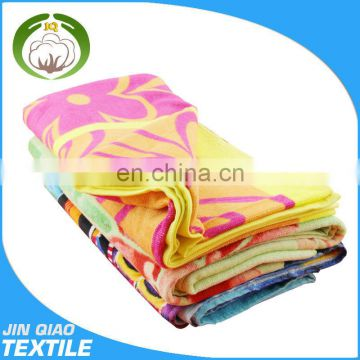 Russia reactive printed cheap beach towels wholesale