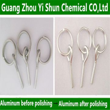 Metal polishing agents Aluminum chemical polishing agent Aluminum electroless polishing process