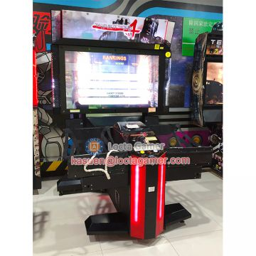 Zhongshan amusement equipment redemption, Hunting simulator Gun shooting game machine, 55