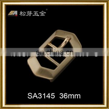 Wholesale all kinds of metal top sell antique brass wheel pin buckle