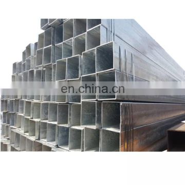 Hot Dipped Galvanized Steel square Pipe any size