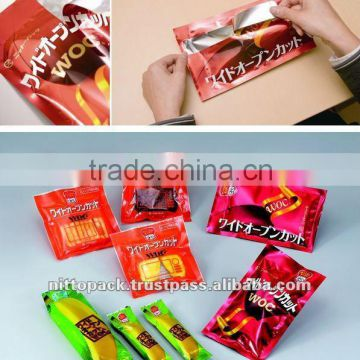 Wide variety of transparent snack packaging bag for coconut sugar bulk