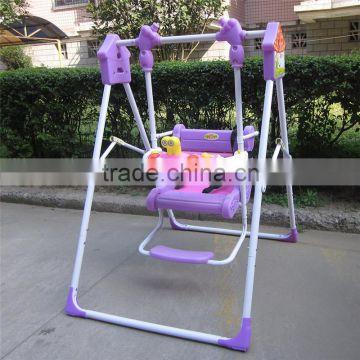 ... Children Swing Indoor Home And Garden Kids Canopy Swing Single Seat Patio  Swing ...