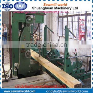 Vertical bandsaw wood cutter machine saw mill equipment for sale