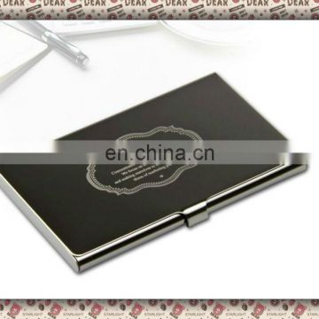 2013 Printing Business Name Card Holdername Card Case With Logo