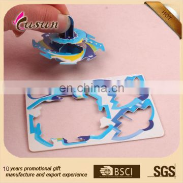 wholesale children gift custom 3D diy puzzle game,3d puzzle diy toy,3D jigsaw puzzle