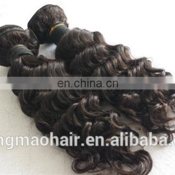 Gold supplier top quality 100 percent virgin peruvian deep wave human hair