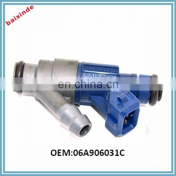 BAIXINDE New 06A906031C Fuel Injector For Volkswagen Bora Golf 2.0L