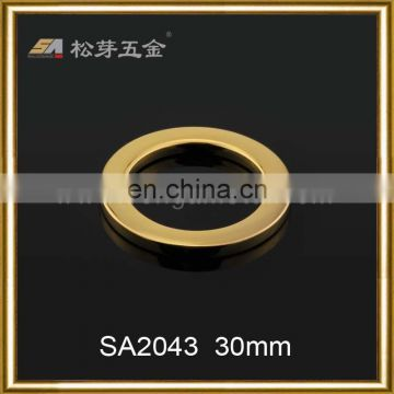 Songa metal SA2043 metal plates for handbags zinc alloy ring buckle