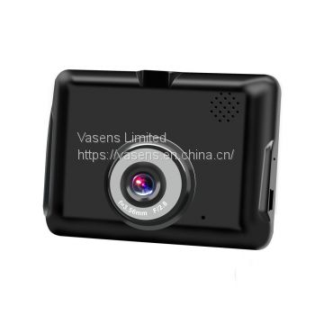 Vasens FHD1080P 120 degree wide angle high definition absolute black 2.8 inch classical car dvr manufacturer direct ..