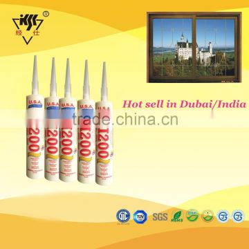 Acetic cure ge silicone sealant for window frame spray of Silicone
