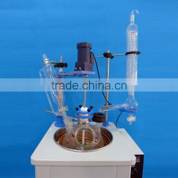 High Pressure Single Layer Glass Reactor For Chemical Processing