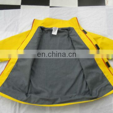 6.0 oz Nomex IIIA - Yellow firefighting suit