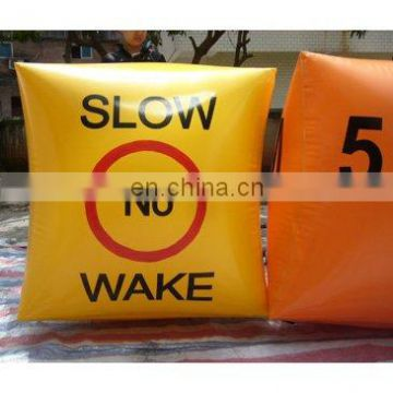 sea or lake event use custom inflatable warning marker buoys