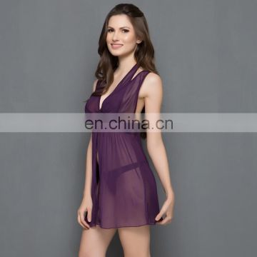 Sultry BabyDoll In Purple