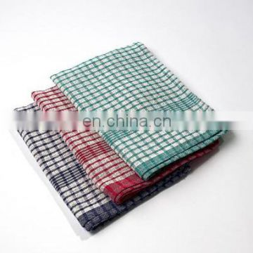 wholesale traditional British mini check linen tea towel