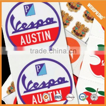 Famous lable paper magnetic custom sticker promotion                                                                         Quality Choice