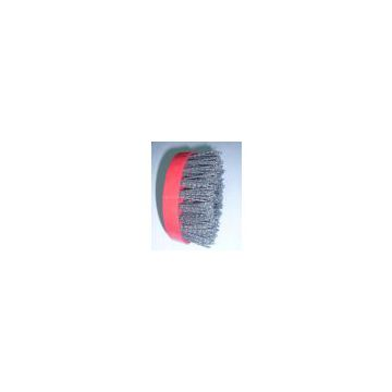 4 inch screw brush/Industrial steel wire brush for stone material/Diam 110mm abrasive brushes used in hand machine for grinding and polishing Marble,Granite,sandstone/