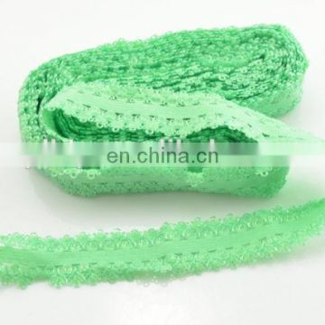 Oeko-Tex100 Pantone Color Knitted Picot Elastic