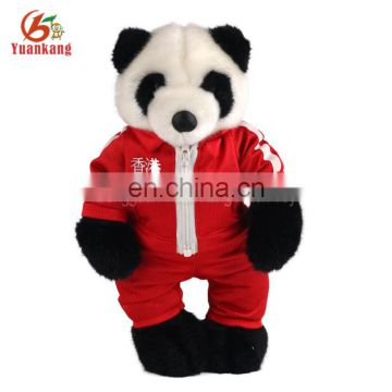 EN71 certified Cuddly soft toy bear Plush 18 inch Panda - Black and White