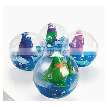 Inflatable Tropical Fish In Beach Balls
