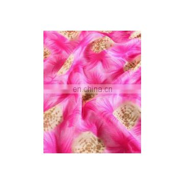 Neon Fuchsia Traditional Shibori Kota Doria Screen Printed Fabric