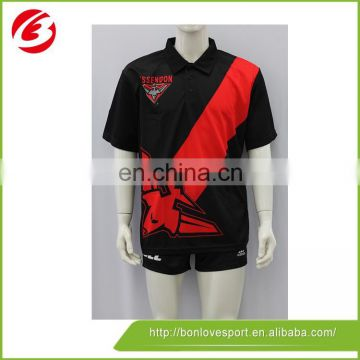 100 Polyester uniform Polo Shirt design
