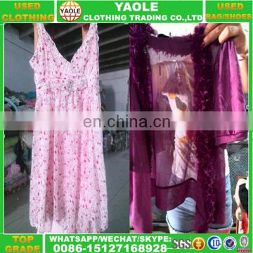 Used clothes in bales/bulk used clothing factory wholesale used night dress