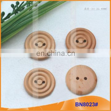 Laser Engraved Wooden Buttons for Garment BN8023