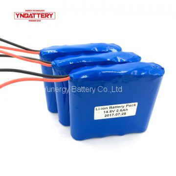 lithium battery pack 14.8v 2600mAh good performance for scout flash