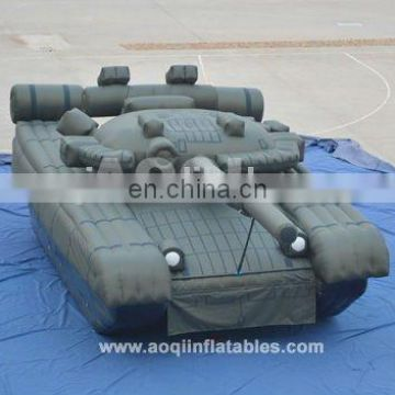 2015 AOQI new design advertising sealed inflatable tank for sale