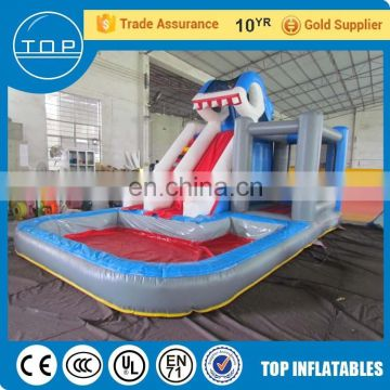 Commercial cheap outdoor plastic slides commercial inflatable water slide with En14960/EN15649