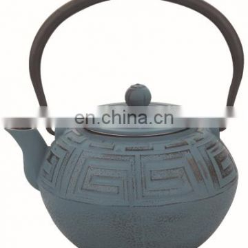 Japanese cast iron teapot 0115
