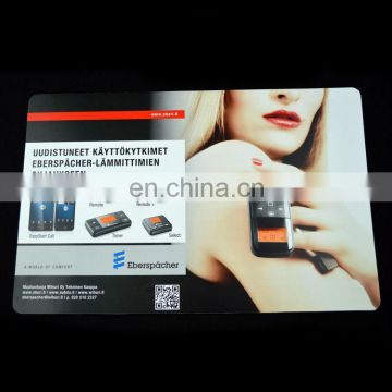 fashion custom printed pvc laminated placemats