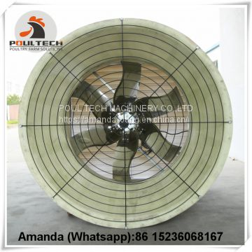 Uzbekistan Hot Sale Poultry Farming Equipment Exhaust Fan & Ventilation System & Air Cooler/Air Heater & Cone Fans in Poultry & Livestock Farm