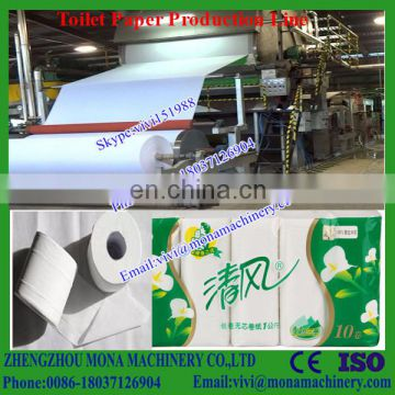 High Quality Small Toilet Paper Production Line,Tissue Paper Production Line,Facial Tissue Paper maker (0086-18037126904)