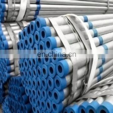 Hot dip galvanized round steel pipe / GI pipe pre galvanized steel pipe galvanized tube for construction