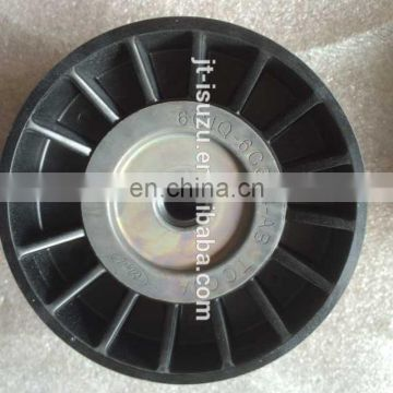 6C1Q 6C344 AB for transit V348 genuine part belt tensioner pulley